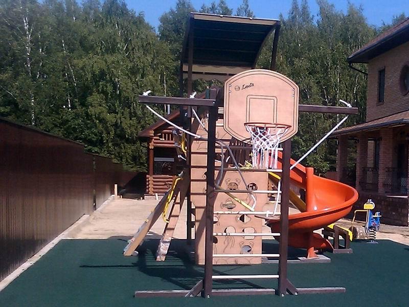 Детская площадка в Веткино